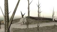 Árvores sem folhas para GTA San Andreas