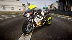 Triumph Daytona 675R Turbo Ken Block para GTA 4