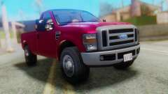 Ford F-350 Super Duty Táxi Regular de 2008 FIV АПП para GTA San Andreas