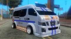 Nissan Urvan NV350 para GTA San Andreas
