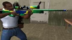 Three Colors Sniper Rifle para GTA San Andreas