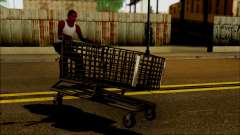 O carrinho no supermercado para GTA San Andreas