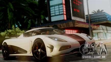 NFS Rivals Koenigsegg Agera R Racer para GTA San Andreas