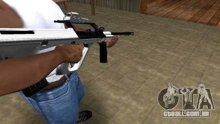 Chrome AUG para GTA San Andreas