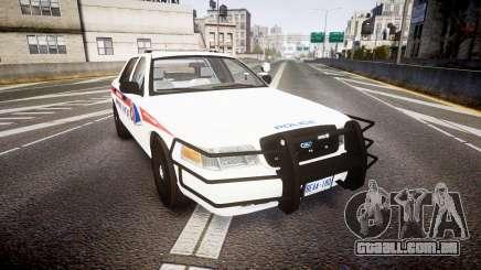 Ford Crown Victoria Bohan Police [ELS] WL para GTA 4