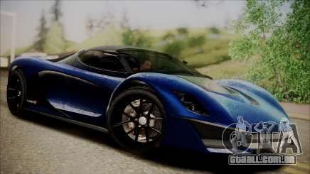 GTA 5 Grotti Turismo R SA Style para GTA San Andreas