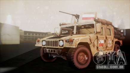Polish HMMWV para GTA San Andreas