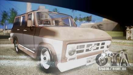 Chevrolet Veraneio para GTA San Andreas