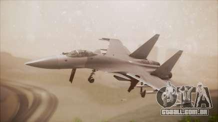 SU-35 Flanker-E Ofnir Ace Combat 5 para GTA San Andreas