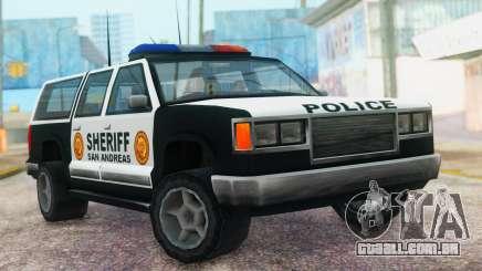 Police 4-door Yosemite para GTA San Andreas