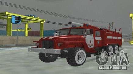 Ural 375 Bombeiro para GTA San Andreas