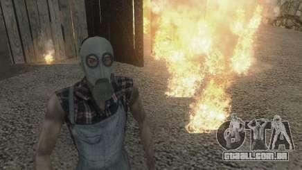 A máscara Virtus para GTA San Andreas