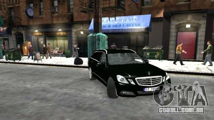 Mercedes-Benz E-Class 2015 Norwegian Police para GTA 4