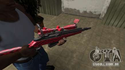 Red Romb Sniper Rifle para GTA San Andreas