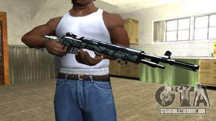 Green Forest Rifle para GTA San Andreas
