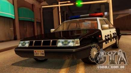 Police SF Intruder para GTA San Andreas