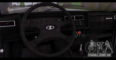 VAZ 2107 Escoamento de Qualidade para GTA San Andreas vista inferior