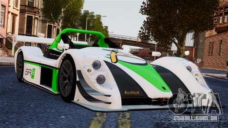 Radical SR8 RX 2011 para GTA 4