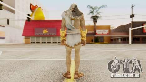 Zeus v2 God Of War 3 para GTA San Andreas terceira tela