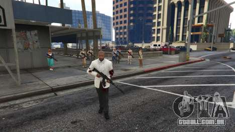 GTA 5 Bodyguard Menu 1.7 terceiro screenshot