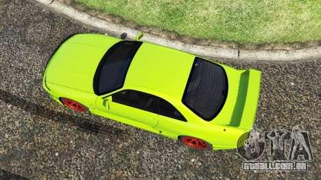GTA 5 Nissan Skyline BCNR33 [Beta] voltar vista