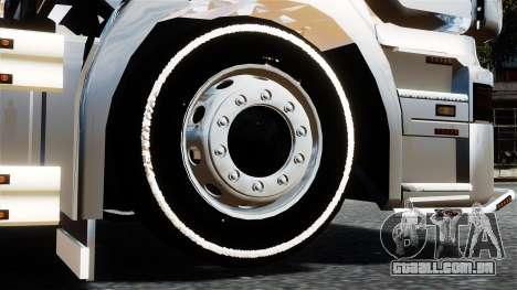Scania R580 para GTA 4 traseira esquerda vista