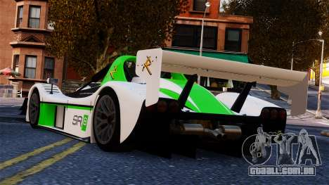 Radical SR8 RX 2011 para GTA 4 esquerda vista