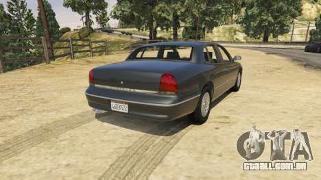 GTA 5 1994 Chrysler New Yorker vista lateral esquerda