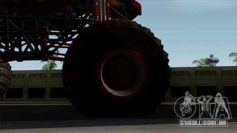 The Seventy Monster v2 para GTA San Andreas vista traseira