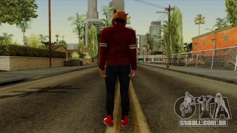 VanossGaming Skin para GTA San Andreas terceira tela