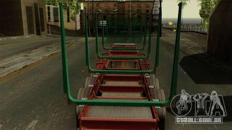 Trailer Cargos ETS2 New v1 para GTA San Andreas vista traseira