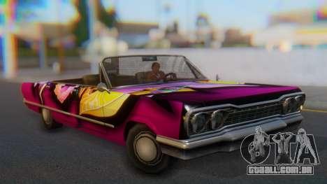 Savanna New PJ para GTA San Andreas vista direita