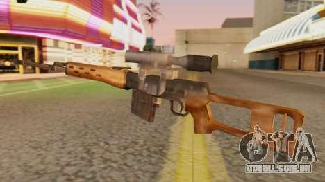 SDV, SA Estilo para GTA San Andreas segunda tela