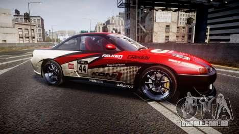 Nissan Silvia S14 Koni para GTA 4 esquerda vista