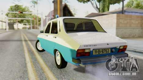 Dacia 1310 Militia para GTA San Andreas esquerda vista