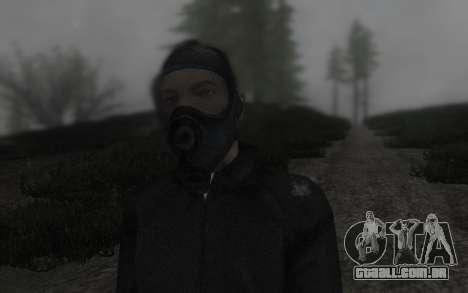 GTA5 Gasmask para GTA San Andreas terceira tela