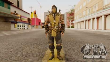 Scorpion [MKX] para GTA San Andreas segunda tela