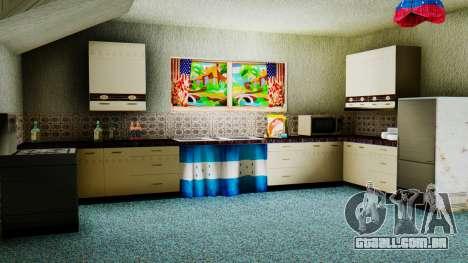 Stern Design House CJ para GTA San Andreas por diante tela