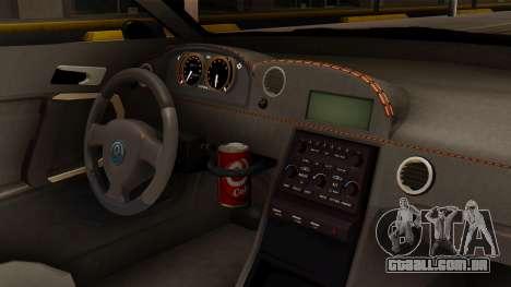 GTA 5 Annis Elegy RH8 SA Style para GTA San Andreas vista direita