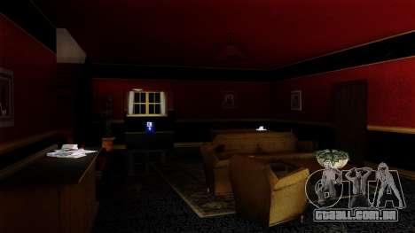 Retextured CJ de casa em estilo de Scarface para GTA San Andreas segunda tela