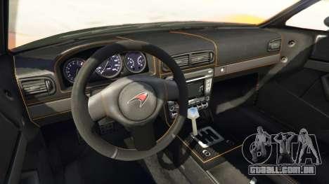 GTA 5 Progen T20 McLaren P1 vista lateral direita