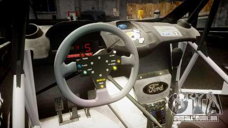 Ford Fiesta RS Ken Block 2015 para GTA 4 vista de volta