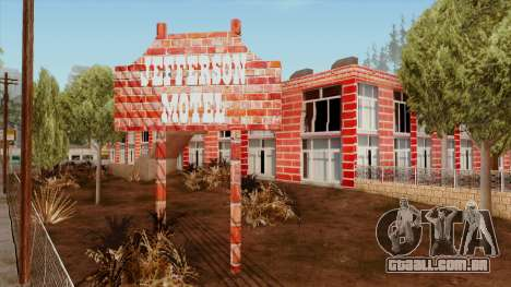 Motel Jefferson para GTA San Andreas