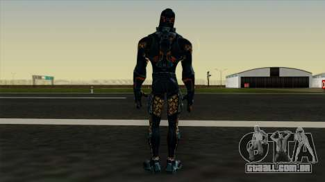 Ant-Man Orange Jacket para GTA San Andreas terceira tela