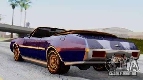 Clover Tuned para GTA San Andreas esquerda vista