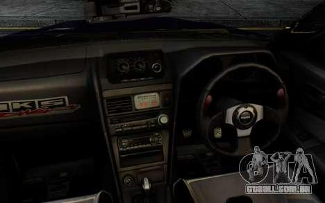 Nissan Skyline GT-R R34 Battle Machine para GTA San Andreas vista direita