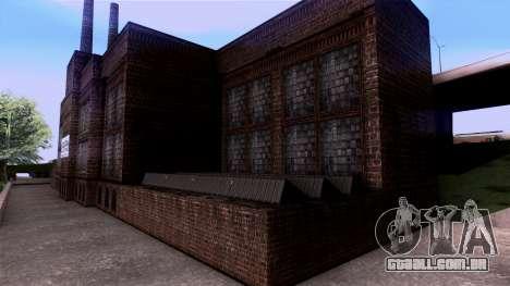 HQ Textures San Fierro Solarin Industries para GTA San Andreas quinto tela