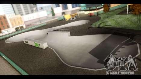 Hospital e Parque de skate para GTA San Andreas nono tela