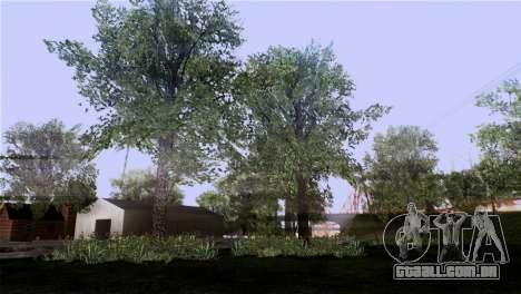A textura das árvores do BISPO para GTA San Andreas