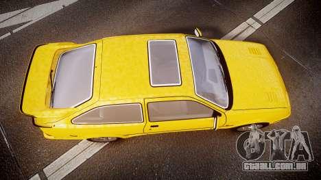 Ford Sierra RS500 Cosworth v2.0 para GTA 4 vista direita